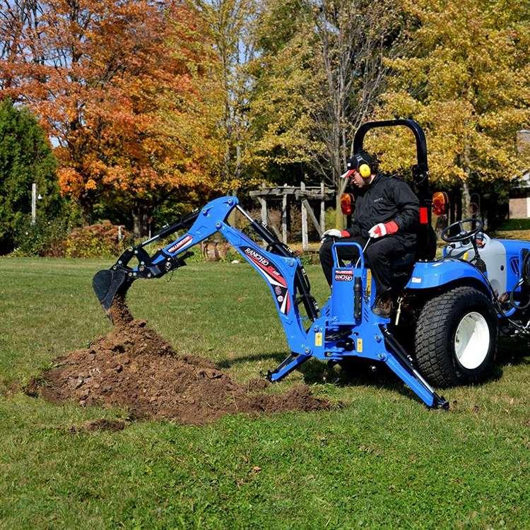 GE605   Backhoes & Skid Diggers   GE/GX Series - Tractor, Skidsteer
