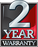 2 Year Commercial Warranty